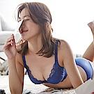 蕾黛絲-葛蕾絲蘋果肌靠過來 D-E罩杯內衣(蔚海藍)