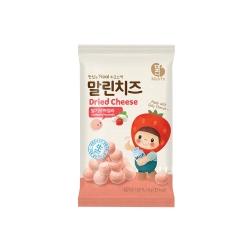 韓味不二 韓國原裝 乾莫札瑞拉起司(草莓口味)(8g)