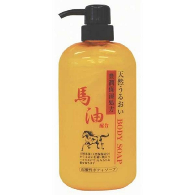 日本 純藥 馬油沐浴乳