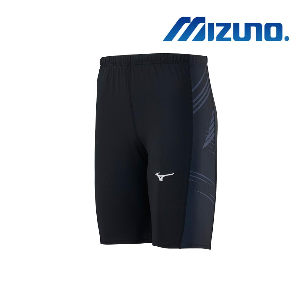 MIZUNO 緊身褲(中長型) 黑 U2TB9G0209