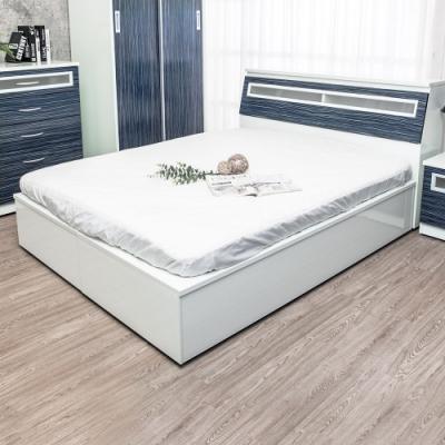 Birdie南亞塑鋼-3.5尺單人加高型側掀塑鋼床組(床頭箱+加高側掀床底)(鐵刀木色)