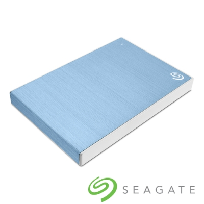 Seagate Backup Plus Slim 2TB 2.5吋 外接硬碟-冰川藍