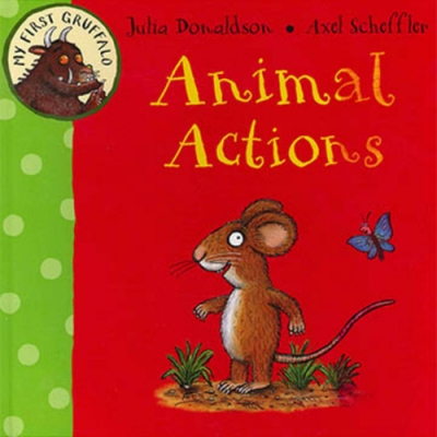 My First Gruffalo:Animal Actions 古肥玀學習書-動物動作