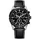CITIZEN 星辰  限量萬年曆計時手錶-黑/39.5mm(BL5496-11E) product thumbnail 1