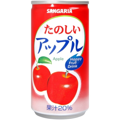 Sangaria 田園果汁飲料-蘋果風味(190g)