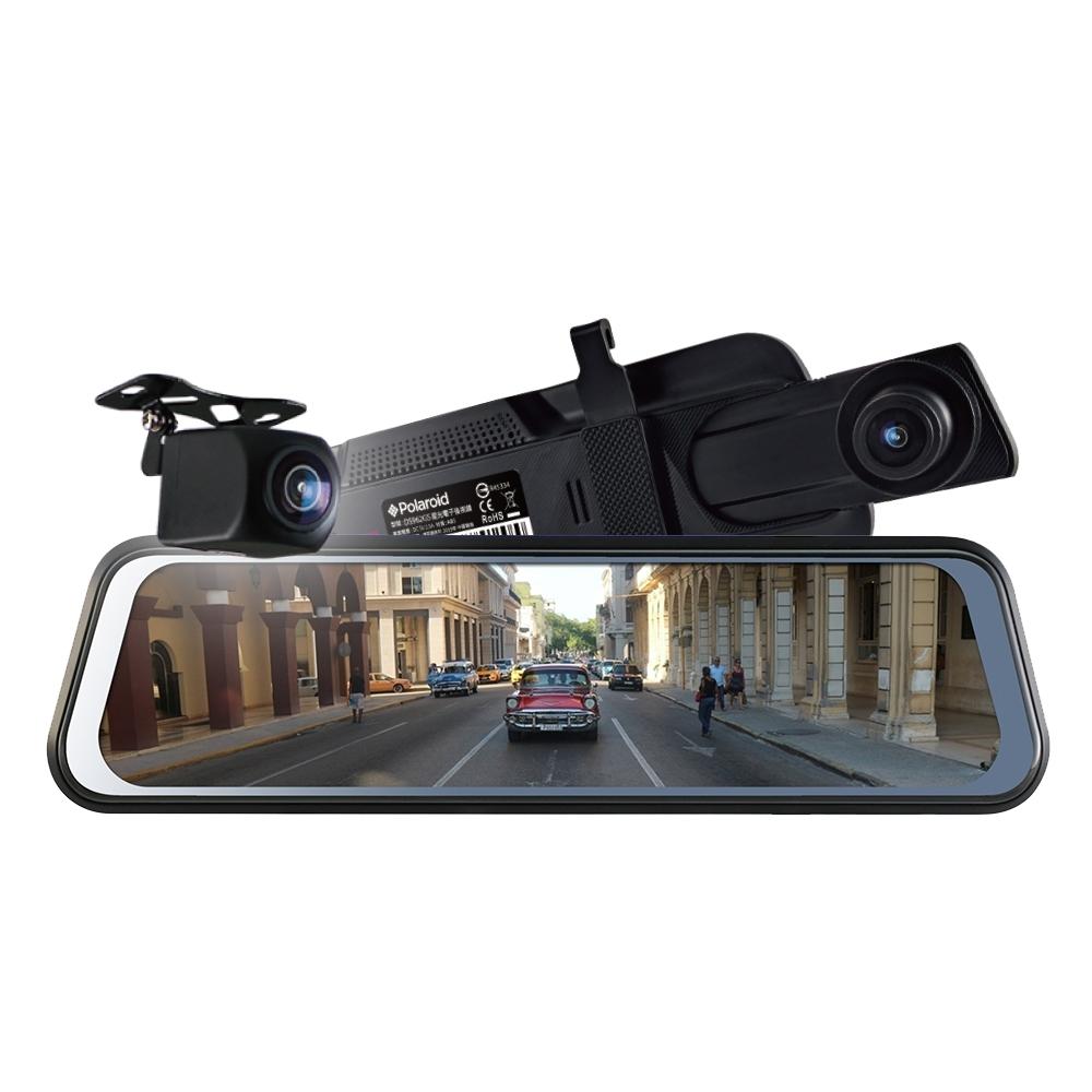 Polaroid 寶麗萊 DS962GS 星光夜視 雙鏡頭1080P 電子後視鏡-快