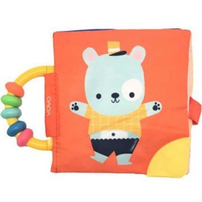 My Soft Rattle & Teether Book:Bear 我的趣味布書:小熊