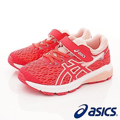 asics競速童鞋 高支撐機能運動款 4A006-700桃(中小童段)