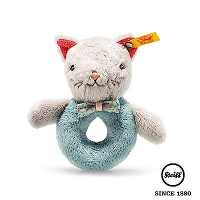 STEIFF 貓咪 Blossom Babies Cat(嬰幼兒手搖鈴)
