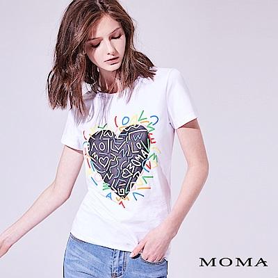 MOMA 立體塗鴉棉T