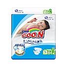GOO.N日本大王 日本境內版-黏貼型紙尿褲(S)-84片x4包/箱-透氣舒柔