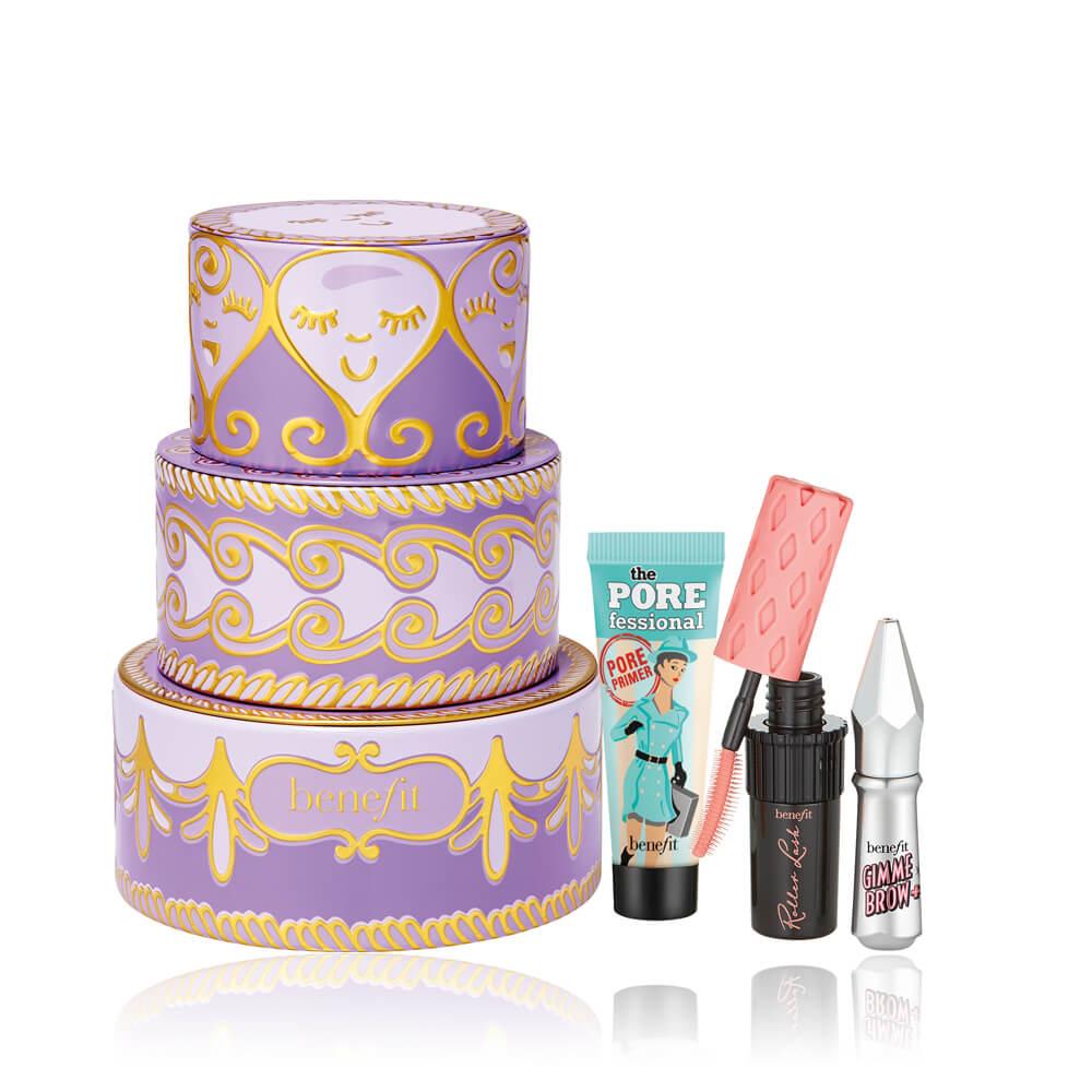 benefit 經典小明星紫色彩妝盒