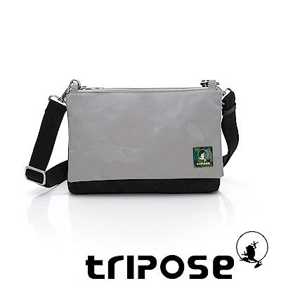 tripose MAJI系列黑迷彩x灰迷彩多變斜背包