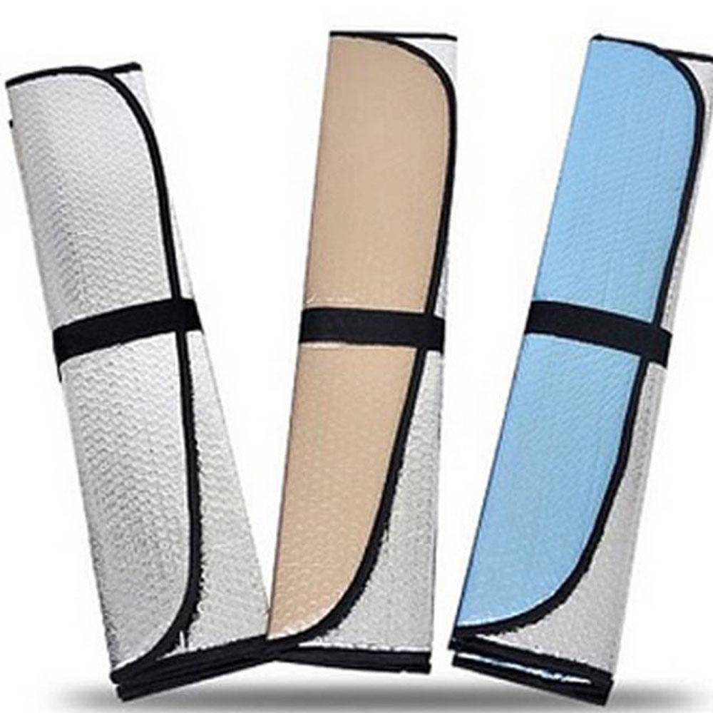 威力鯨車神 頂級汽車用5層加厚遮陽擋/遮光板/遮陽板(140*70顏色隨機出貨)