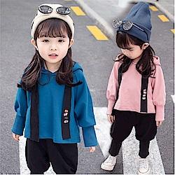 小衣衫童裝   男女寶貝童連帽長袖T搭燈籠長