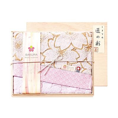 日本Prairiedog 今治匠彩白櫻精緻禮盒組(浴巾X1)
