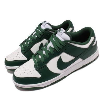 Nike 休閒鞋 Dunk Low Retro 運動 男鞋 經典款 Team Green 休閒穿搭 綠 白 DD1391-101