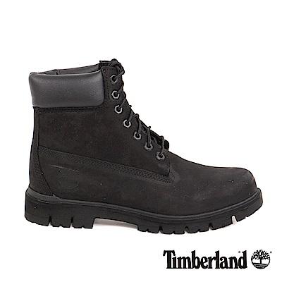 Timberland 男款黑色絨面Radford 6吋防水靴