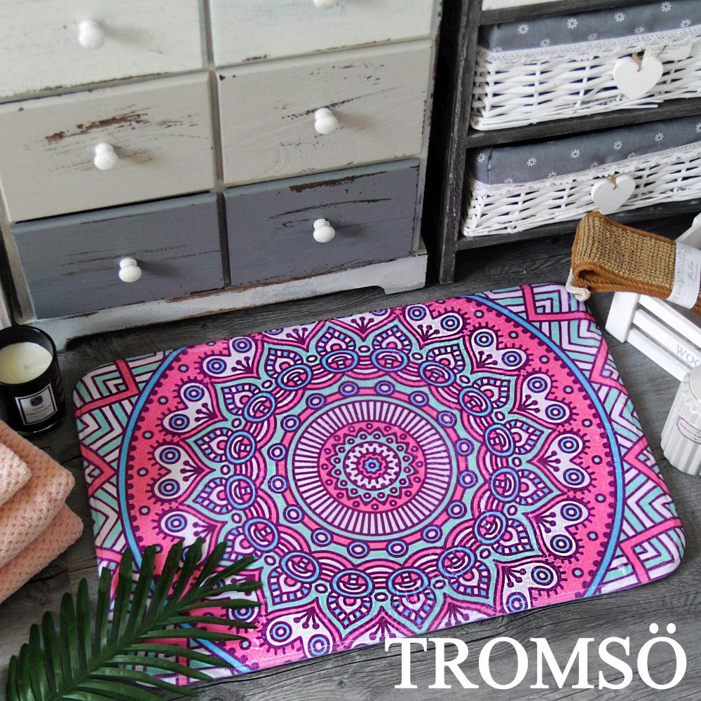 TROMSO 簡單生活超柔軟地墊-M92愛心曼陀羅 @ Y!購物