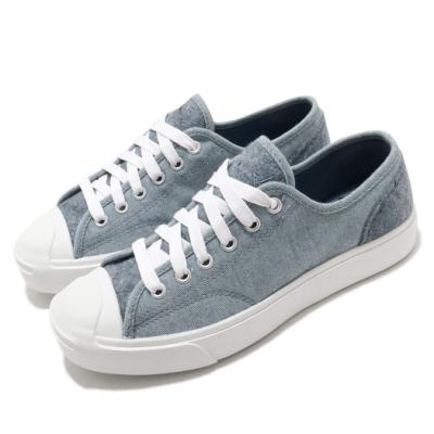 Converse 休閒鞋 Jack Purcell 運動 男女鞋 開口笑 基本款 簡約 情侶穿搭 舒適 藍 白 169614C