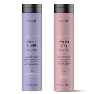 *LAKME 矯色洗髮精贈出色洗髮精300ml(全新包裝)