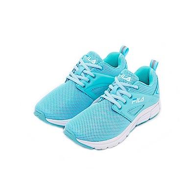 FILA 女健走鞋-水藍色 5-F702T-661