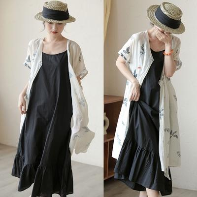 高端長絨棉精棉外穿內搭吊帶裙洋裝-設計所在