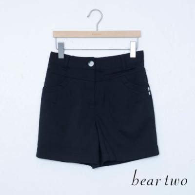 bear two- 俏皮短褲-黑