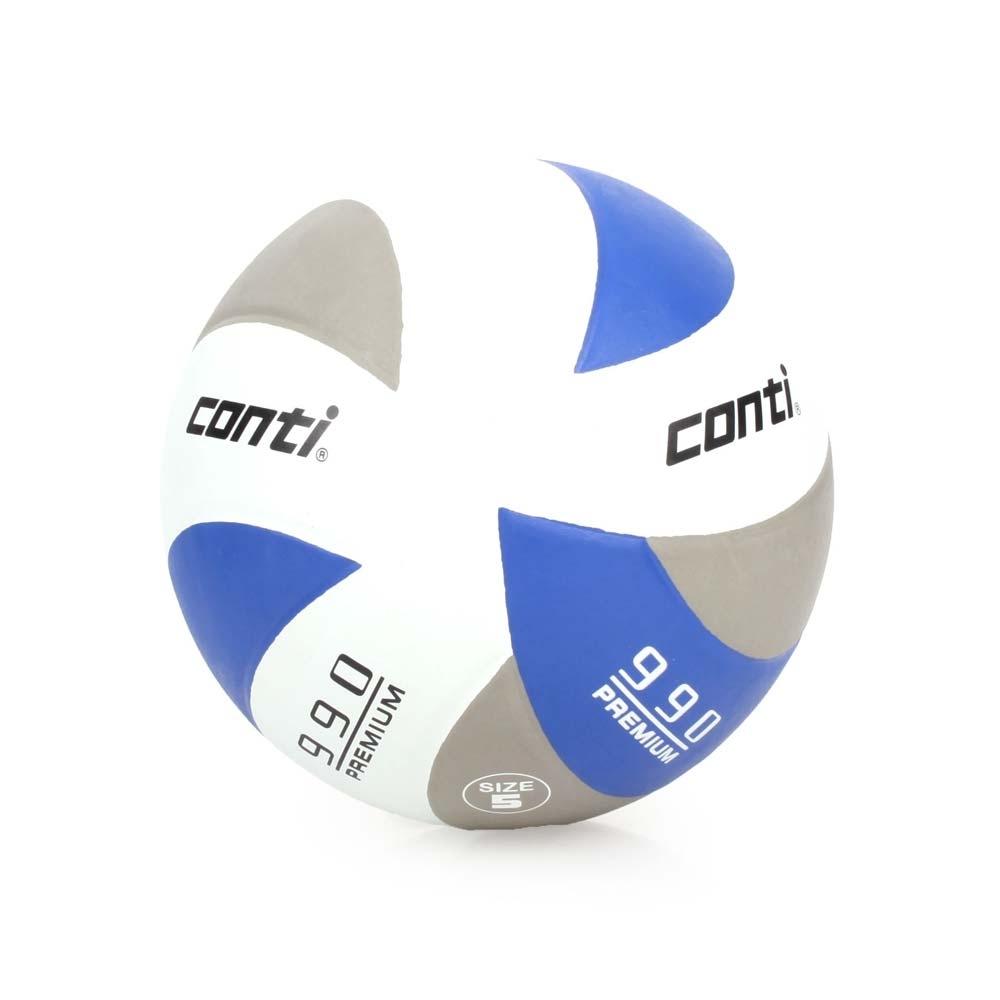conti 5號頂級超世代橡膠排球 CONTI 灰藍白