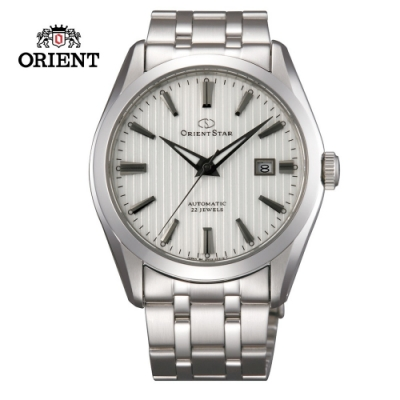 ORIENT STAR 東方之星Mechanical Contemporary 系列機械錶 鋼帶款 白色面 SDV02003W  - 41.0mm