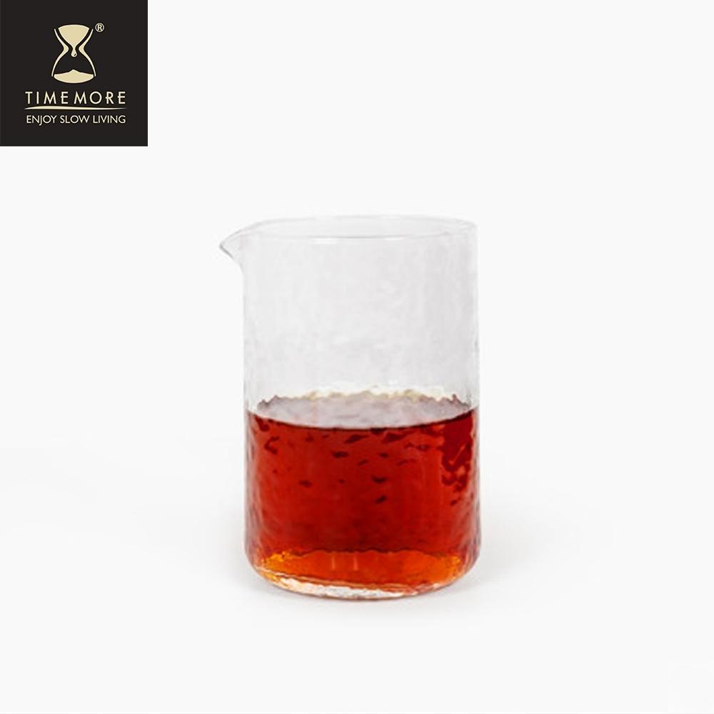 TIMEMORE泰摩 錘目紋玻璃咖啡分享壺-直立無柄