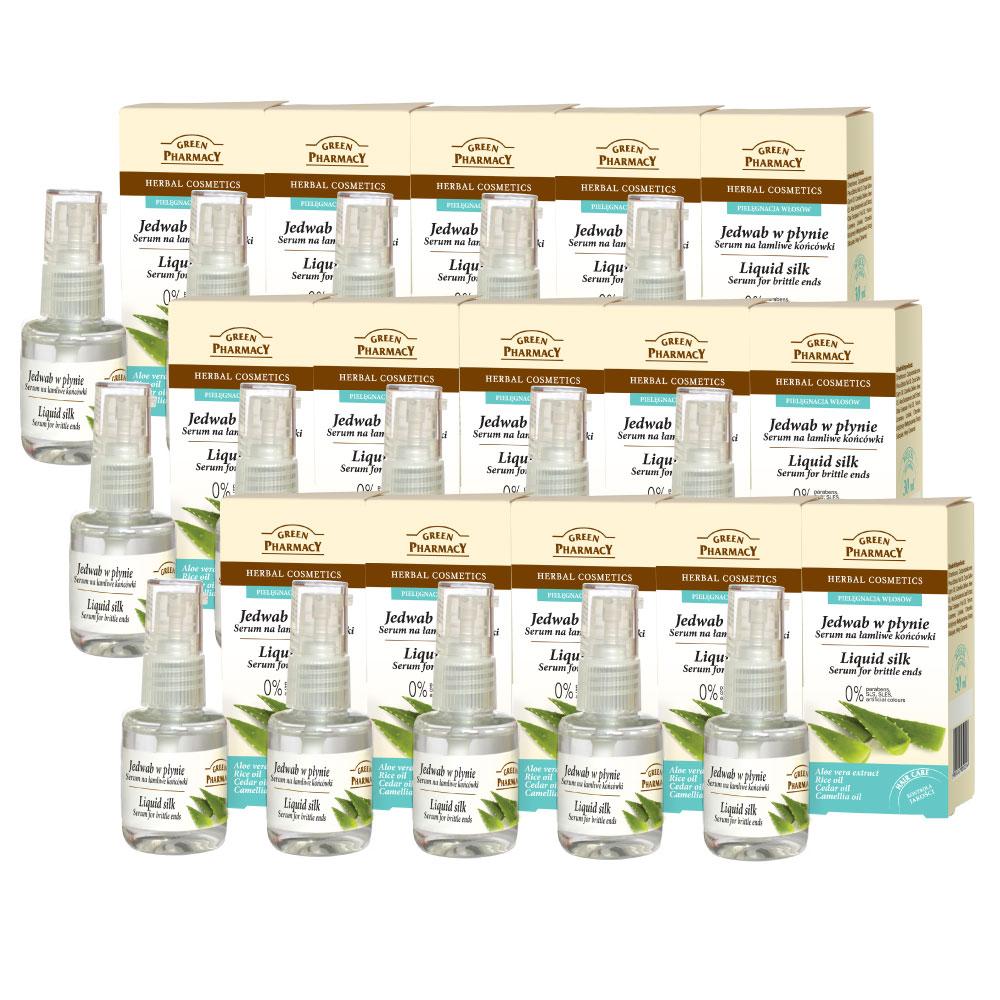 Green Pharmacy 草本肌曜 100%蘆薈萃取髮絲精華素30ml 15入組