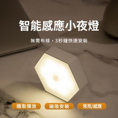 【防災專家】智能感應LED小夜燈 3秒鐘磁吸安裝