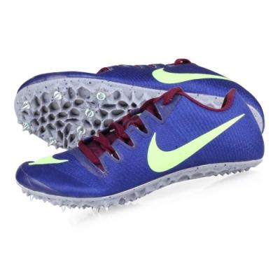 NIKE ZOOM JA FLY 3 男女田徑釘鞋-短距離  競賽 865633500 藍紫螢光綠