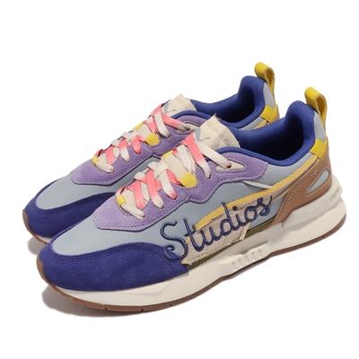 Puma 休閒鞋 Mirage MOX Kidsuper 男鞋 聯名款 Forever Blue 麂皮 彩色 375189-01