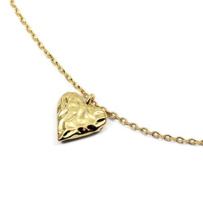Orelia英國品牌 愛心金錘造型金色項鍊