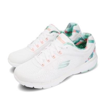 Skechers 訓練鞋 Flex Appeal 3 運動 女鞋 輕量 避震 緩衝 健身 重訓 透氣 白 綠 149002WMNT