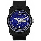 DIESEL 深海雷達運動腕錶(DZ1407)-黑