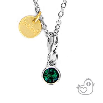 【彩糖鑽工坊】彩糖貝貝   綠水晶項鍊  親子 閨蜜 繽紛寶石系列
