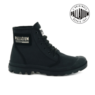 PALLADIUM PAMPA HI TC 2.0高筒帆布靴-男-黑
