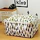 【收納職人】衣物棉被大容量防水防塵袋收納袋收納箱50L(白底小綠樹) product thumbnail 1