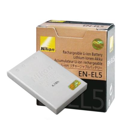 Nikon EN-EL5 / ENEL5 專用相機原廠電池(平輸-盒裝)