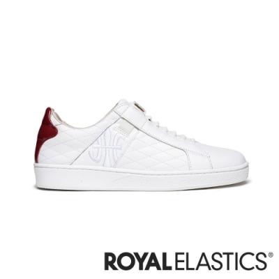 ROYAL ELASTICS ICON LUX 白紅真皮時尚休閒鞋 (女) 92503-001