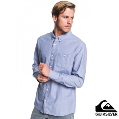 【QUIKSILVER】WATERFALL LS REGULAR 襯衫 藍色