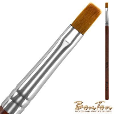 BonTon 原木系列 平唇刷 RT007 貂色纖維直毛