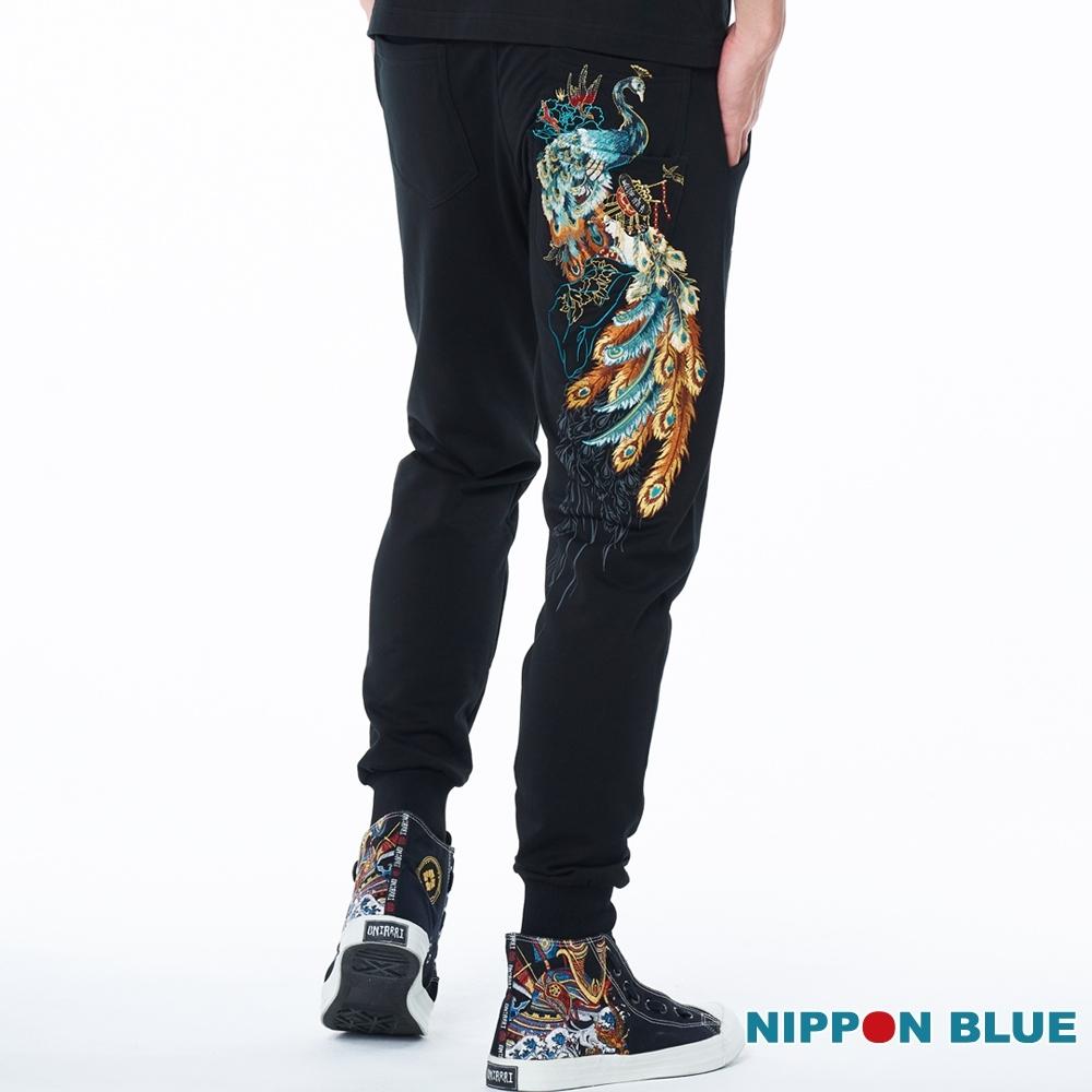 日本藍 BLUE WAY –日本藍金雀衣針織長褲