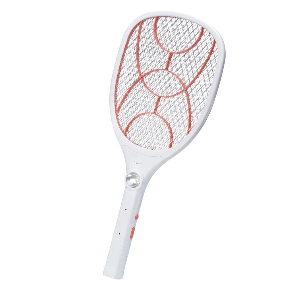 【Caldo卡朵生活】直插式大網面充電捕蚊拍(FA004)
