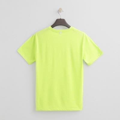 Hang Ten - ThermoContro-純色炫麗logo短T - 綠