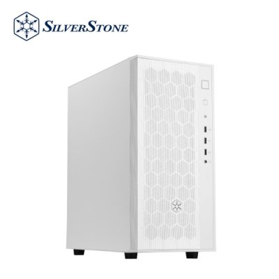 SilverStone銀欣 FARA R1 FAR1W 簡單典雅中塔式機殼(白/鐵側板)