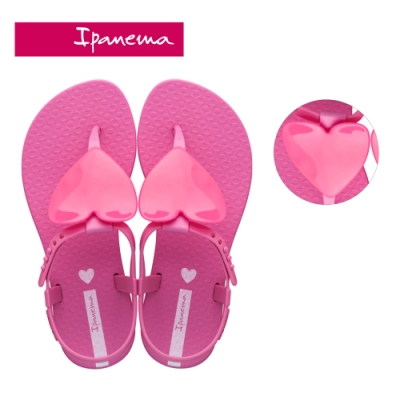 Ipanema [KIDS] CLASS LOVE愛心T字涼鞋- 兒童款-桃紅